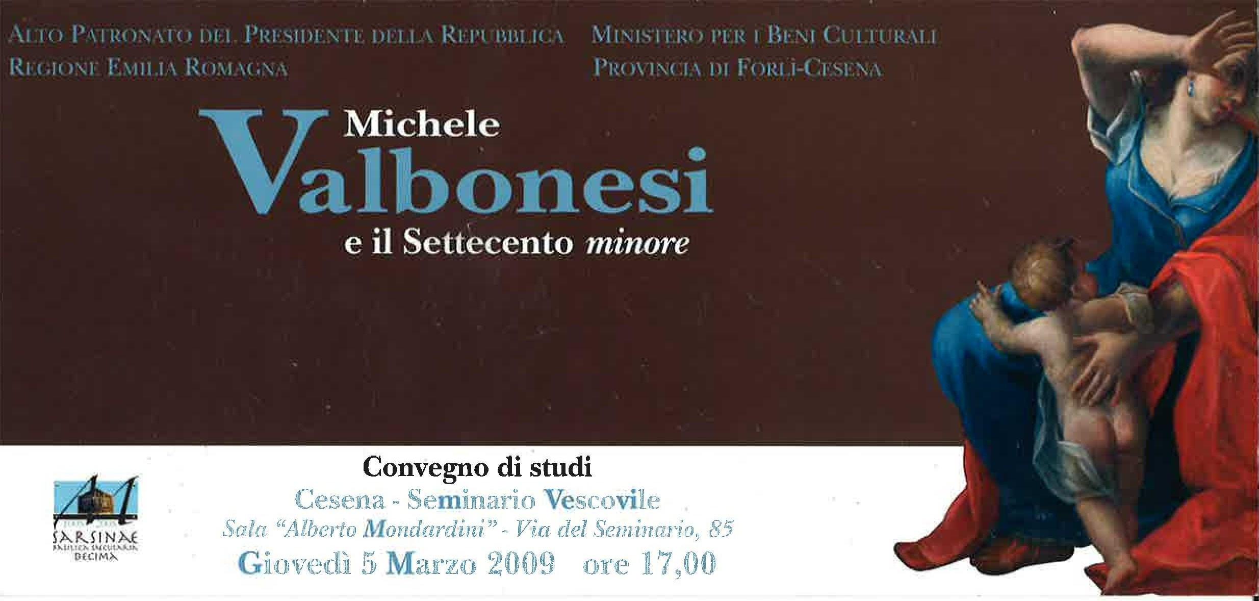 Evento Michele-Valbonesi-Marzo-2009